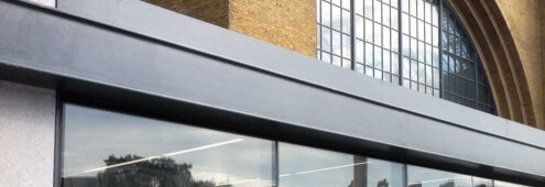 Blast Resistant curtain wall example