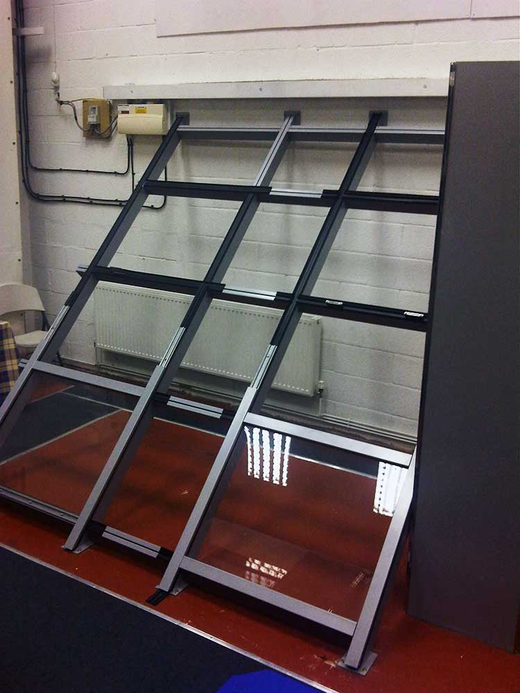 Quality Assurance example of testing a glazing system
