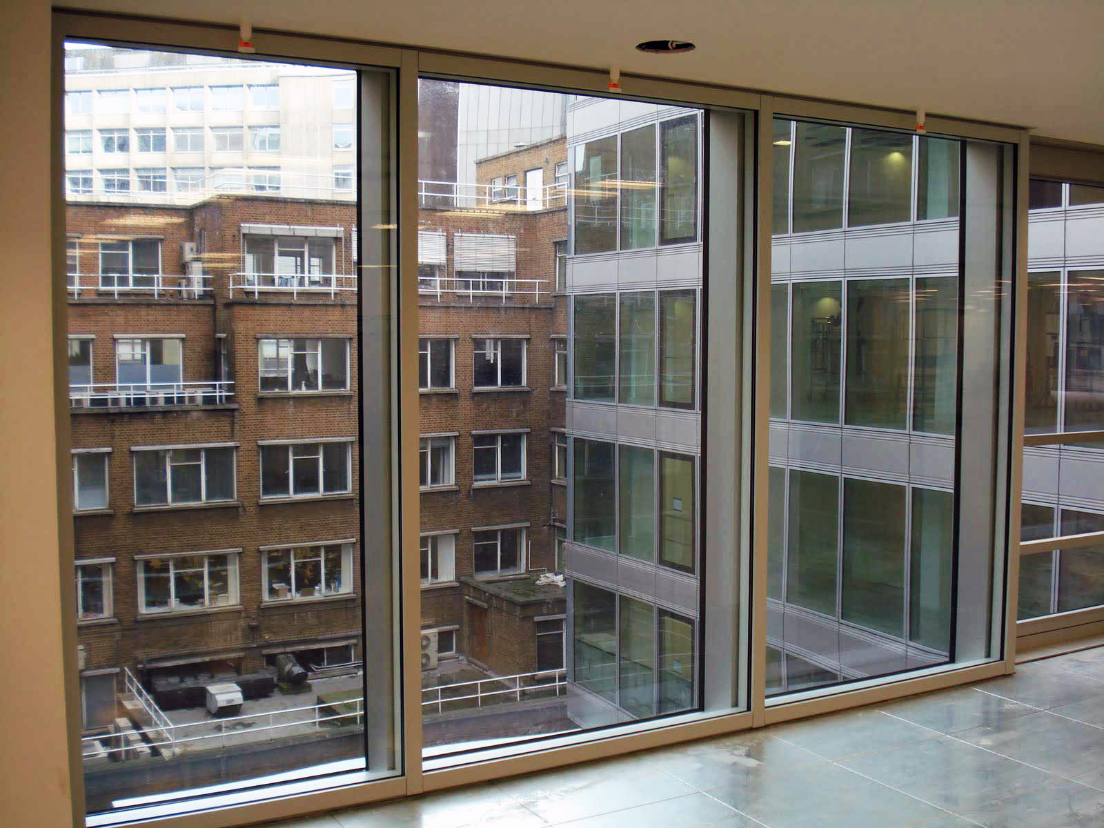 Curtain Wall Interior : Sound reduction curtain wall facades wrightstyle