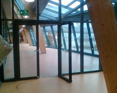 sound Glazed Doors Screens and Windows doors perspective