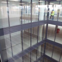 fire resistant glass curtain wall