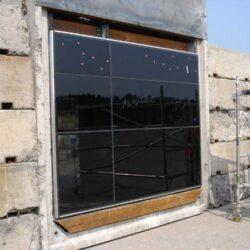 bomb resistant glass