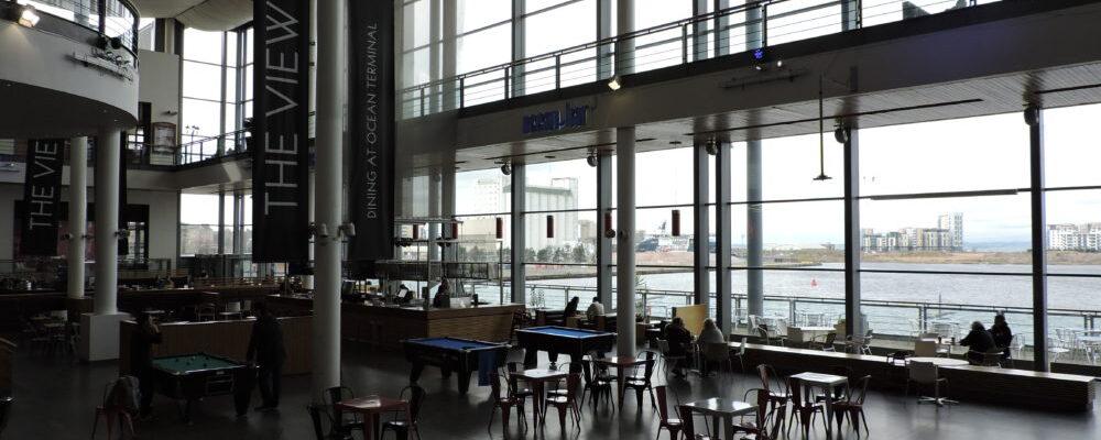 Wrightstyle glazing system Ocen Terminal Edinburgh