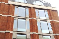 radius head curtain wall screens