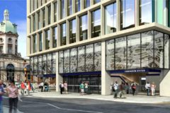 Farringdon station Crossrail Wrightstyle