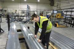 Wrightstyle steel Sainsbury's Upper Heyford