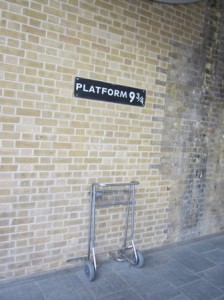 Platform 9 & 3/4 - The Harry Potter platform