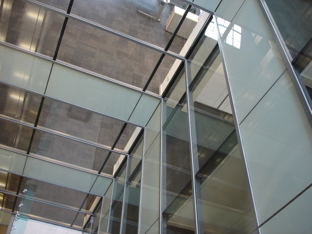 Curtain wall panel - Bomb Resistant Curtain Wall