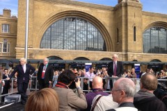 King's Cross officially reopened with the Wrightstyle protection