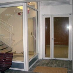 Fire & smoke resistant doors screen and door view