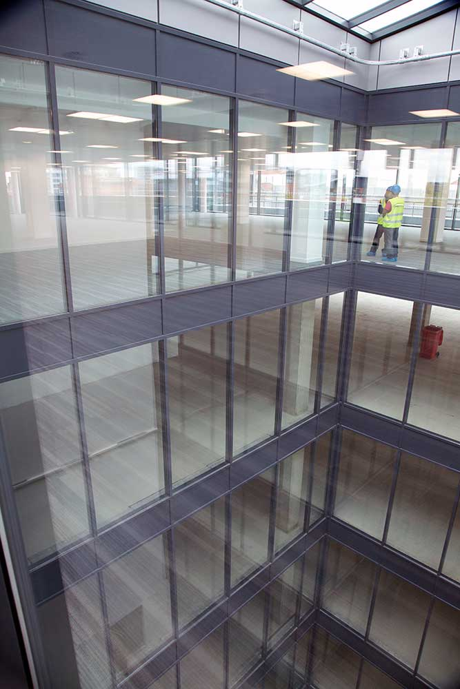 Curtain Wall Interior : Fire resistant curtain wall façades wrightstyle