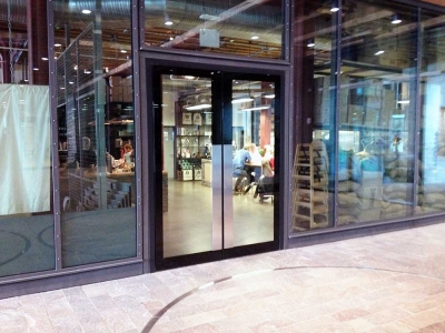 Thermal Glazed Doors Screens and Windows exterior view of shop front