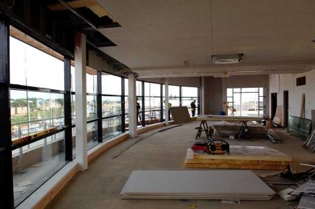 Thermal Glazed Doors Screens and Windows internal view of work in progress