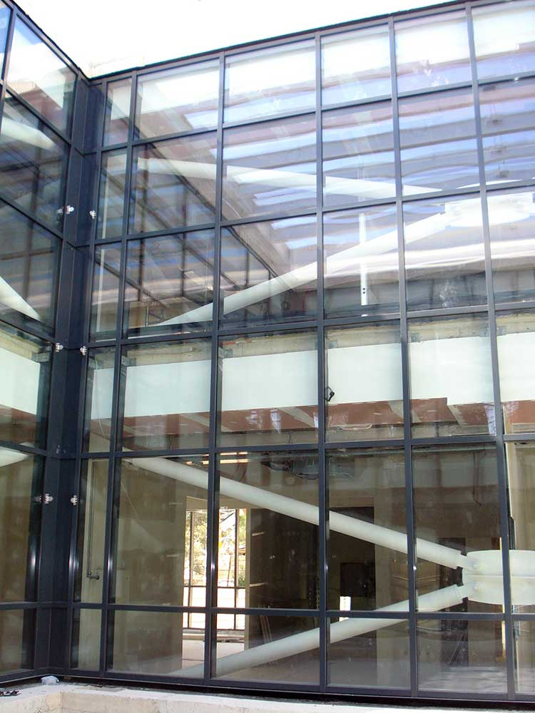 Thermal Weather Performance Interior View Curtain Wall Facade