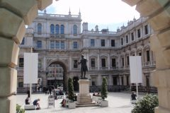 Complimentary glazing systems for the Royal Academy