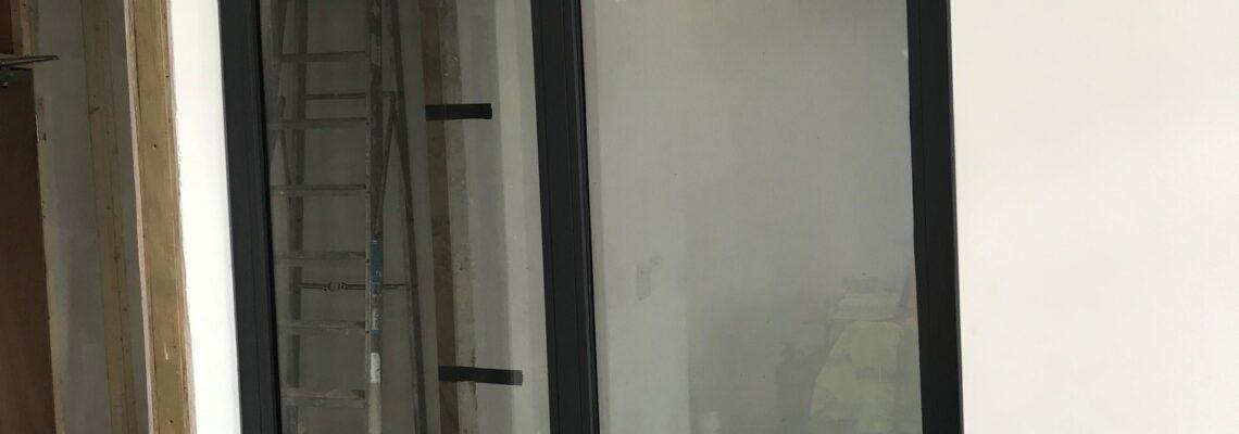 singe fire-rated window
